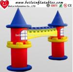 Customizes house door adverting inflatable arch