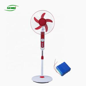 China Cooling Ventilation Battery Powered Standing Fan 3 Speed For Emergency Fan on sale
