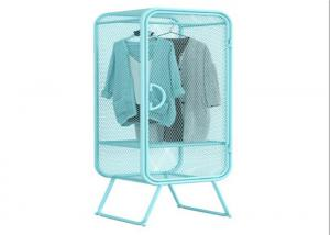 China Nordic Style Metal Clothes Storage Window Display Cabinet Any Color Available on sale