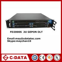 2U Fiber GEPON factory manufacturer 8 Pon Port FTTH Epon/Gepon Olt with  SFP Pon Modules