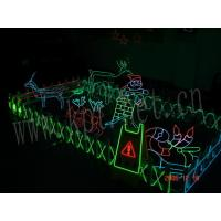 China christmas neon el wire party decoration,diy children toys lighting on sale