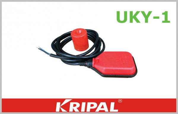 water pump 3 wire cable float level switch , high temperature float switch  3m 5m images