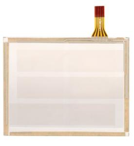 China 4.3 Inch 4 Wire Resistive Touch Panel Screen For Industrial Controll Device on sale