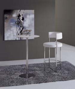 Quality Contemporary Dining Room Chair, Metal Pu / Leather Bar Chairs for sale