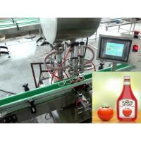China Piston Rotary Monoblock Automatic Liquid Filling Machine for Fruit Jam on sale