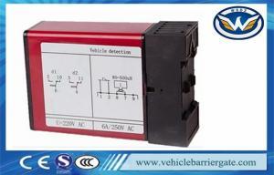 China Two Relays Vehicle Loop Detector , inductive loop traffic detector supplier