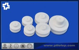 China Exceptional Chemical Resistance Ptfe Machining Parts Excellent Stain Resistance on sale