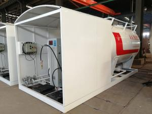 China 10000 Liters Gas LPG Tank For 5mt Completed Propane Gas Filling Plant on sale