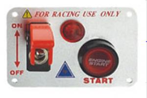China 12 Volt Power Speediness Racing Car Switch Panel With Red Indicator Light on sale
