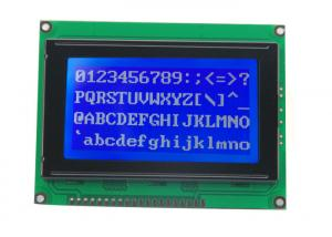 China 128*64C COB Monochrome Graphic STN LCD Module with Zebra for Instrument & meter , Manipulator Controller on sale