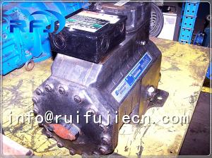 China Automotive Air Copeland Semi Hermetic Compressor , 7.5hp Copeland Hermetic Compressor D3DA-750 on sale