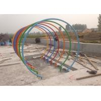 China Water Spray Park Rainbow Circle Children Water Playground Colorful ISO CE SGS on sale