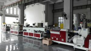 China POM PC PMMA Plastic Pipe Extrusion Machine , Professional POM PC PMMA Pipe Extrusion Machine on sale
