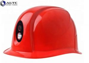 China Personal Protector PPE Safety Helmet Long Lifespan Bluetooth GPS WiFi 4G Torch Light on sale