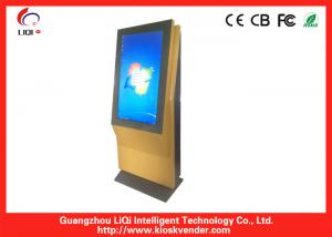 China 42 Inch Wifi LCD Advertising Free Standing 6 Points Touch Screen Digital Kiosk on sale