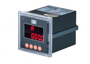 China Single Phase Digital Energy Meter Panel / Voltmeter With Four Way Switch Input on sale