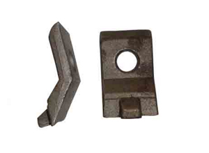 K type rail clamp