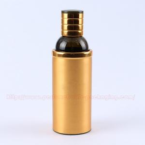 Quality 100ML  Aluminum Perfume Bottle Perfume Bottle Packaging with Aluminum Collar / Cap for sale