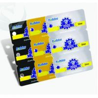 Unique Square Plastic PVC Business Cards 3-in-1 0.3mm-1.0mm Thickness
