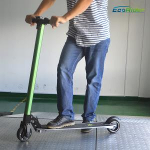China Easy operating Folding adult kick scooter lightweight 350W Power on sale