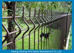 Galvanized Welded Wire Mesh Panels / Courtyard 3d Wire Mesh Fence