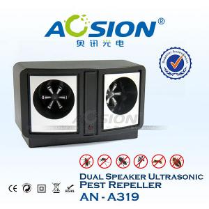 China Home Use Dual Speaker Ultrasonic Pests Repeller on sale