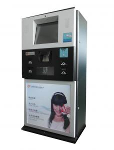 China Self Payment Kiosk With Card Reader, Cash Accetor for E-payment / Human Service Payment S862 on sale