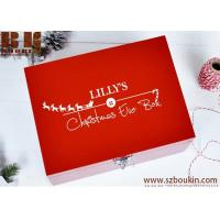 Christmas Eve Box WITH FREE GIFT Personalised Wooden Christmas eve Box
