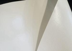 China UV Resistant White PVC Membrane Structure 1000D*1000D For Sun Shade on sale