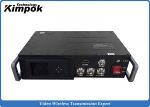 China 25W Powerful Vehicle Mounted COFDM HD Wireless Transmitter for Wireless Marine Surveillance on sale