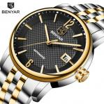 Wholesale BENYAR Fashion Men Waterproof 30m Calendar Fully automatic mechanical wristwatch BY-5144