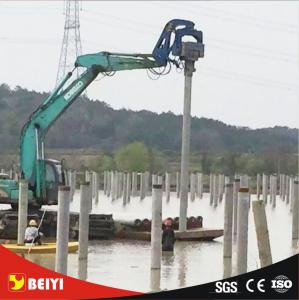 Beiyi V300 hydraulic static pile driver equipment 65mm