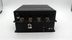 China 4K-SDI To Fiber Converter-4K camera sdi video over fiber optic Extender-Single mode single fiber ST/SC fiber connector on sale