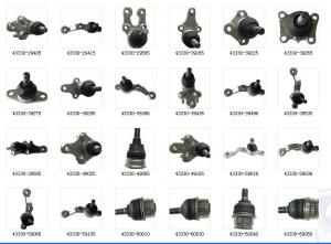 Spare Parts Toyota Ball Joint List High Quality With Brand Packing