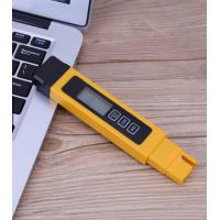 Handhold Auto Digital Water Quality Tester ±2% Accuracy With Black Leather Cover