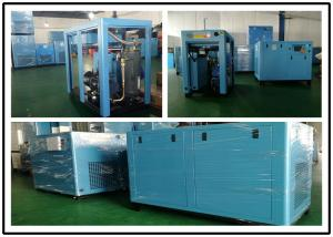 China Industrial Energy Efficient Air Compressor , Screw Low Noise Air Compressor 90KW on sale