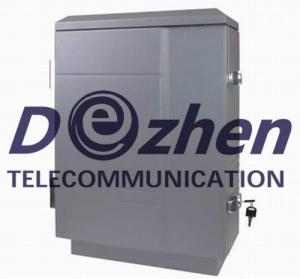 China Wireless Software Controlled Mobile Phone Signal Jammer High Power 250W Waterproof on sale