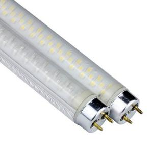 China Professional 21W IP45 T10 Led Tube Light with aluminum + grind arenaceous PC shell on sale
