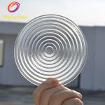 Dia 112mm with Focal length 70mm Tempered Fresnel Lens,Glass Borosilicate Fresnel Lens For Studio Lamp,LED Stage Light