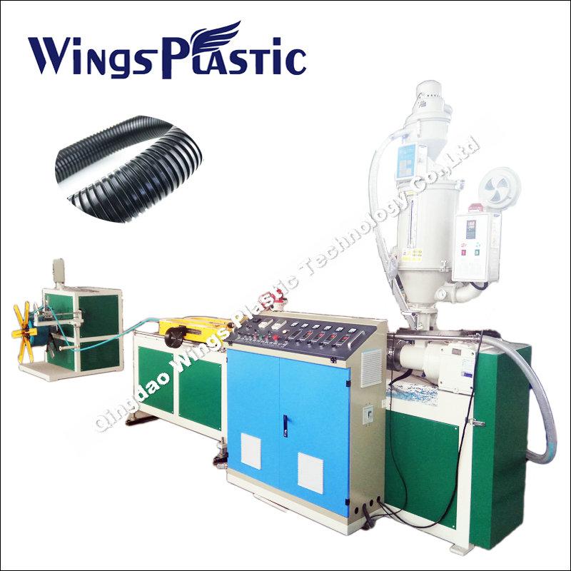 Plastic corrugated pipe corrugator machine for sale