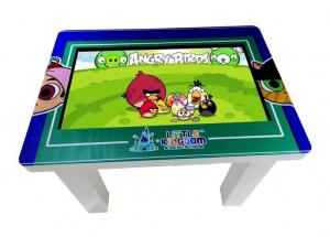 China 32 Inch H81 School Kids Game Multi Touch Screen Table 350Nit Brightness 698.4 * 392.8MM on sale