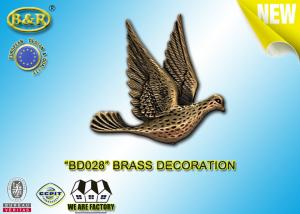 China REF. BD028 Brass Pigeon Tombstone Decoration Size 10*10.5cm Material Copper Alloy on sale
