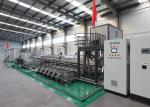 Industrial aluminum Rack 1600 mm Glass Washing Machine For Mirror Glass Coating