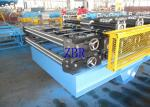 1000MM Feeding Width Metal Roof Roll Forming Machine 0.6 Inch Chain Drive