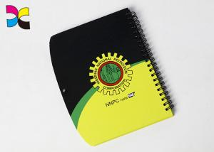 China Hardcover A4 A5 Spiral Notebook Printing With Colorful Wire Binding on sale
