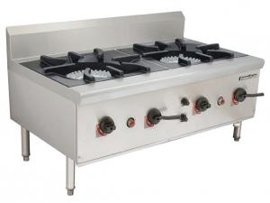 China Gas Stock Pot Range Chinese Style Soup Cooking Stove 1100 x 650 x (500+150) mm on sale