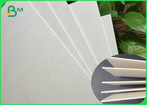 China Natural White Water Absorbent Uncoated Coaster Paperboard Sheets 0.8mm 1mm wholesale