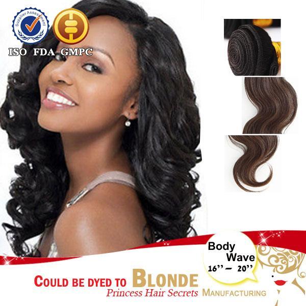 6a Cheap Hair Weaving Brazilian Human Hair 18inch 20inch 22inch