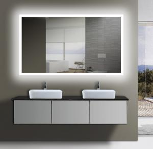 Etl certified frameless backlit light up wall mirror for bathrooms quality etl certified frameless backlit light up wall mirror for bathrooms for sale aloadofball Image collections