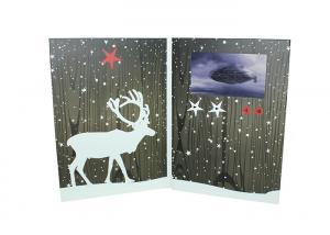 China Custom Direct Mail Video Greeting Cards Say Hello To Your Clients Or Potential Customers on sale